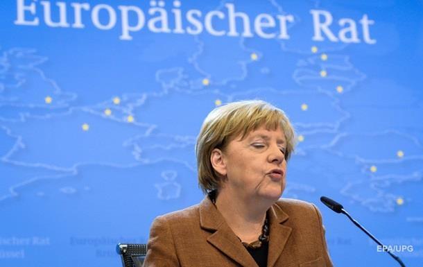 Рейтинг Меркель упал до четырехлетнего минимума