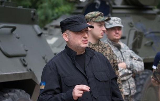 Турчинов: На Донбассе есть тенденция к затиханию конфликта