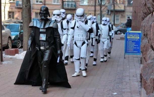 Дарт Вейдер идет в мэры Харькова