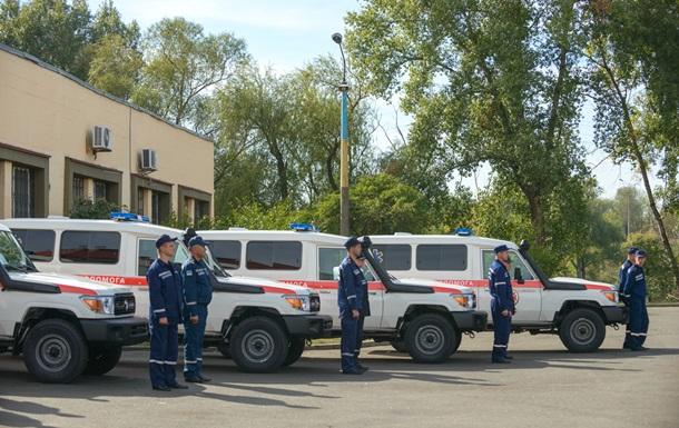 Германия подарила Украине 12 машин скорой помощи