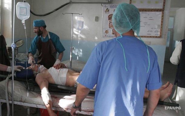 В Афганистане под авиаудар попала больница  Врачей без границ , есть жертвы