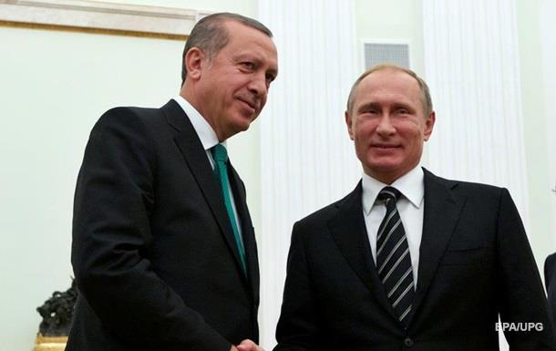 Эрдоган раскритиковал действия России в Сирии
