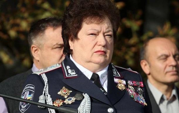 Организатор Антимайдана приняла присягу у полиции Херсона