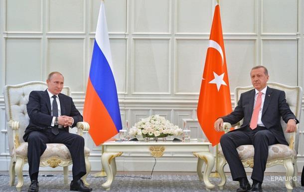 Эрдоган предупредил Путина о возможном разрыве