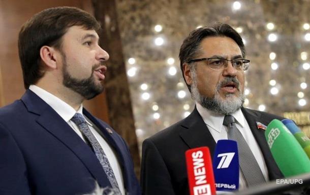 В ЛДНР хотят парафировать в Минске законопроект о выборах