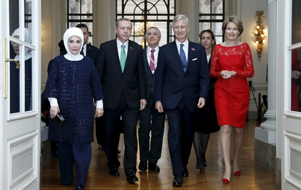 Агенты спецслужб Турции и Бельгии подрались перед речью Эрдогана - СМИ