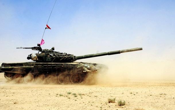 Сирийская армия идет в атаку