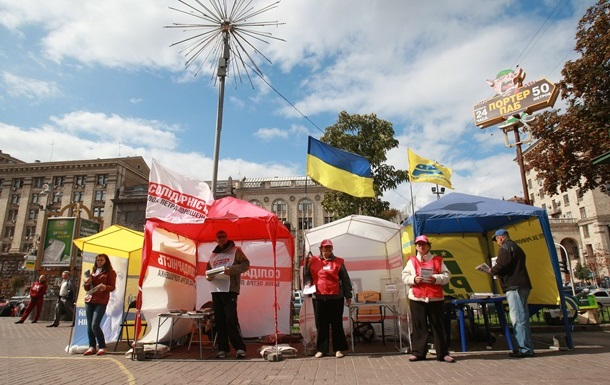 Кто рвется к власти в крупнейших городах Украины