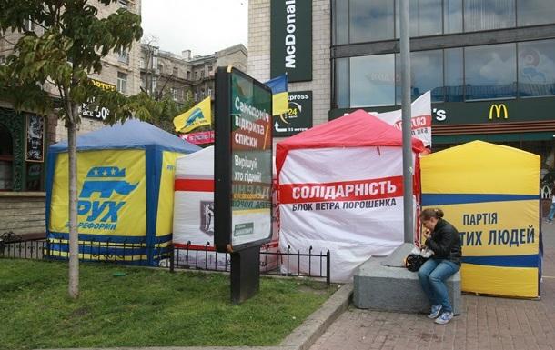 Партии в Украине будут финансировать из госбюджета