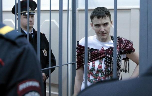 Савченко готова начать сухую голодовку