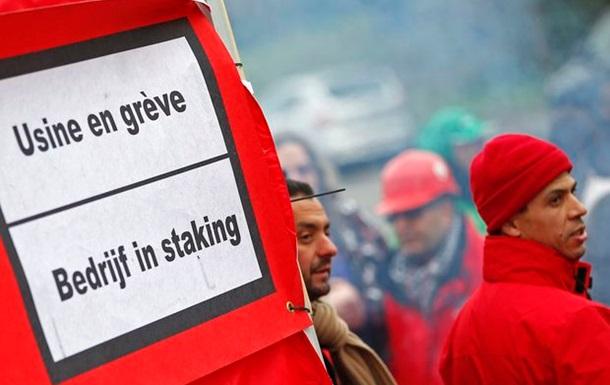 Забастовка парализовала железнодорожный транспорт в Брюсселе