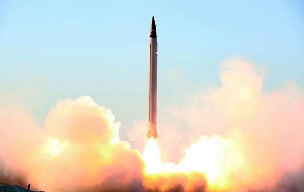 Иран испытал ракету дальнего действия