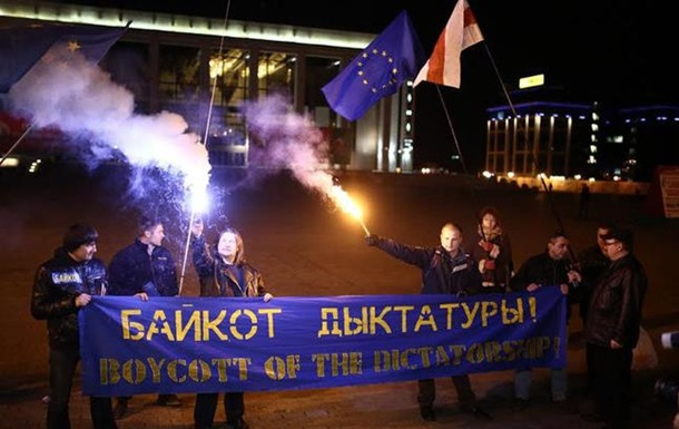В Минске немногочисленные протесты против победы Лукашенко