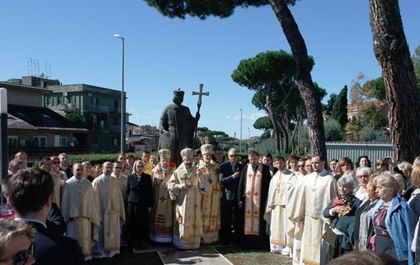 В Риме открыли памятник князю Владимиру