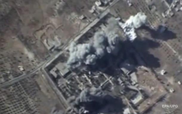 Россия заявила об уничтожении двух штабов ИГ