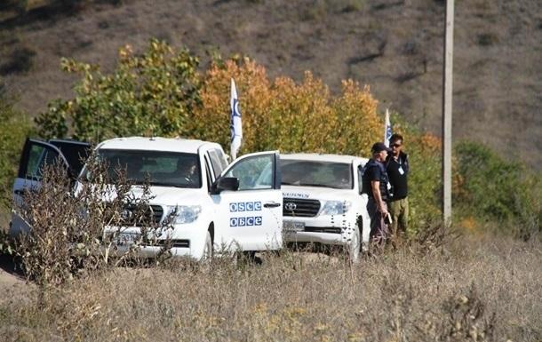 ОБСЕ: С мест отвода исчезает оружие
