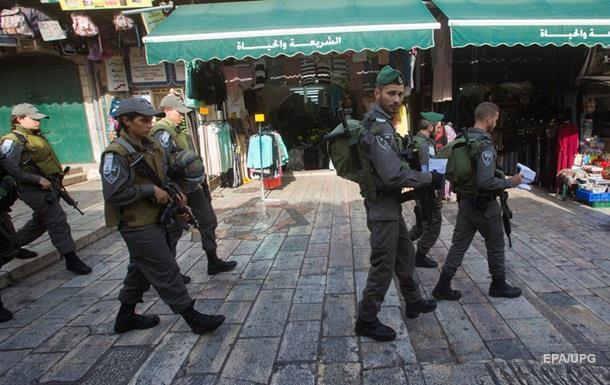 Полиции Иерусалима разрешили оцеплять арабские кварталы