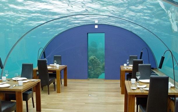 Ресторан Ithaa Undersea Restaurant