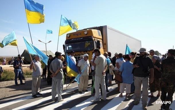 Блокада Крыма: На блокпостах хотят установить видеонаблюдение