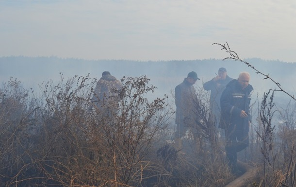 В Киевской области появились новые очаги возгорания торфяников