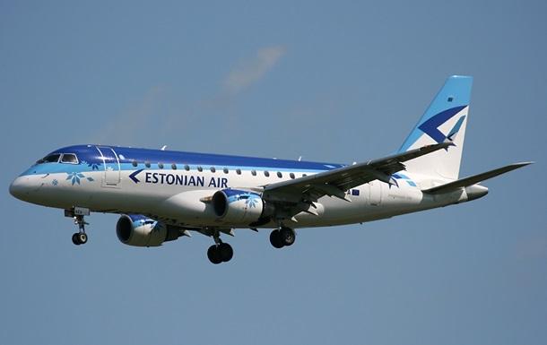 Estonian Air прекращает полеты в Москву