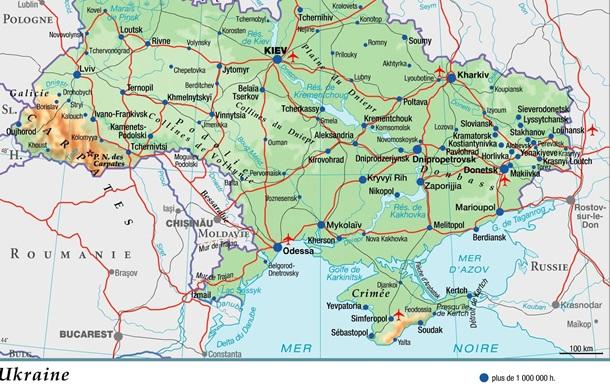 Французское издательство  вернуло  Крым Украине