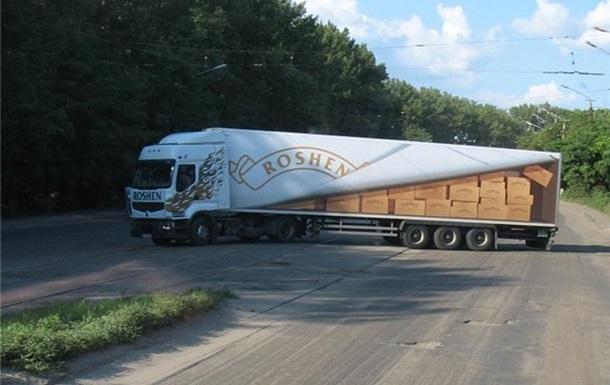Участники блокады не пустили в Крым продукцию Roshen