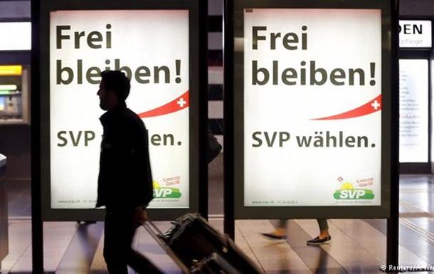 На выборах в Швейцарии прогнозируют победу правой партии