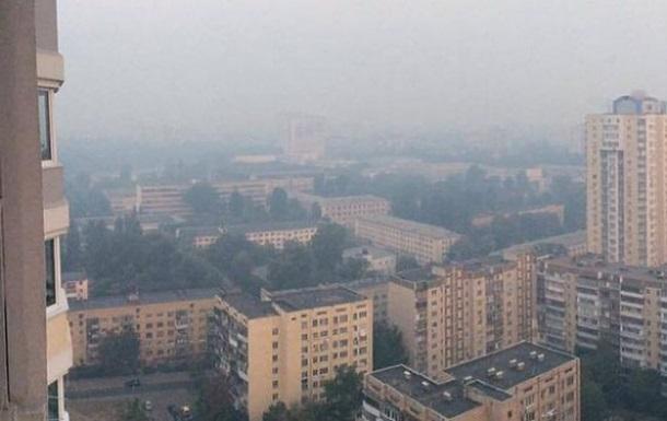 Загрязнение воздуха в Киеве превышает норму