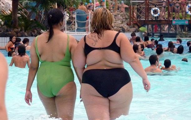 Число людей с ожирением растет с каждым годом