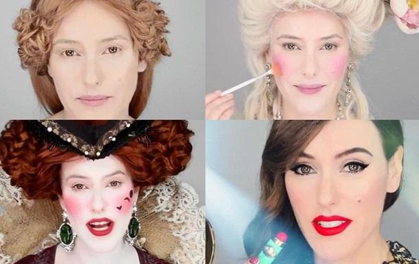Разные виды макияжа