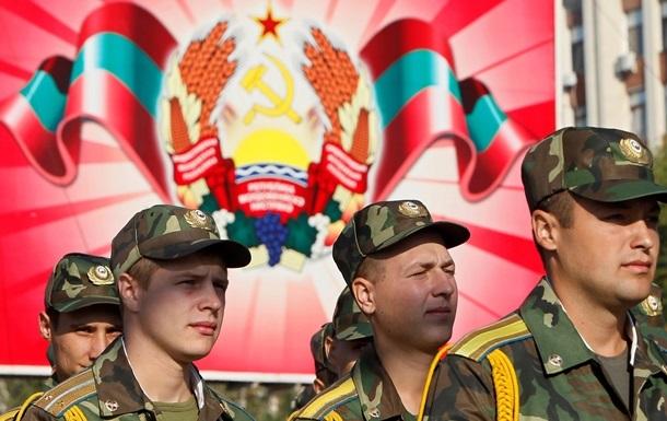 Россия начала ротацию войск в Приднестровье