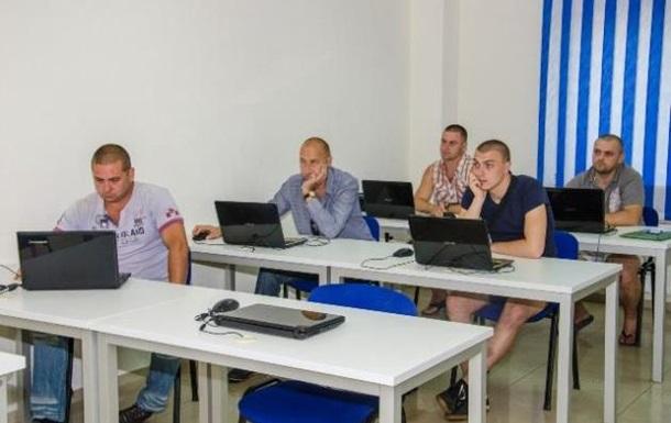 В Днепропетровске бойцов АТО снова учат верстке сайтов
