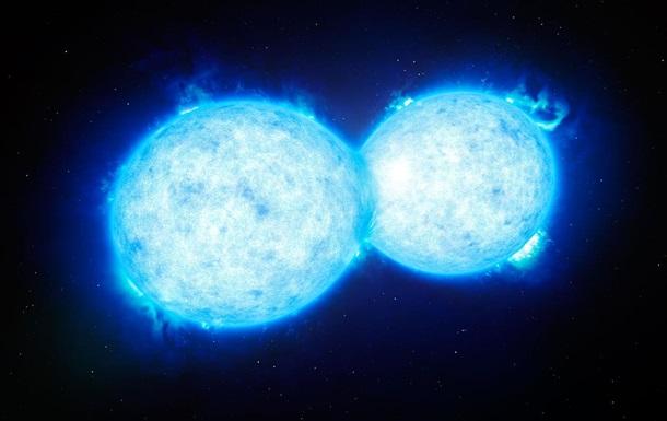 Астрономы показали предсмертный  поцелуй  гигантских звезд