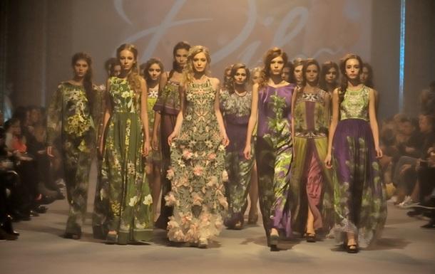 Дикая украинская орхидея в коллекции DIL на подиуме Ukrainian Fashion Week