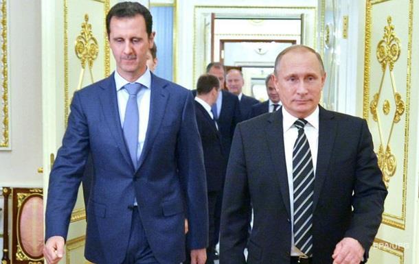 Путин обсудил визит Асада с лидерами четырех стран