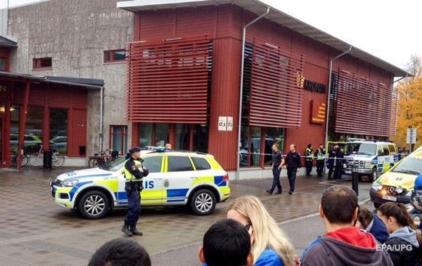 Резня в шведской школе: четверо ранены, один погиб