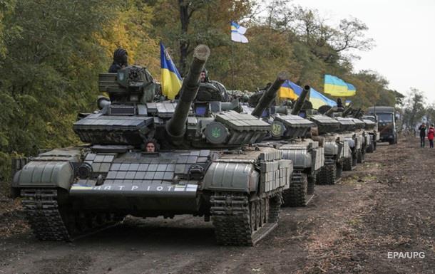 Генштаб: Украина отведет все танки на Донетчине сегодня