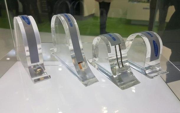 Прототипы гибких батарей