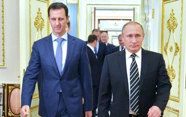 Кнут для Запада. Реакция мира на  тайный  визит Асада в Москву