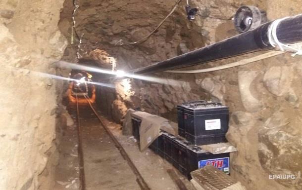 Полиция Мексики обнаружила 800-метровый тоннель наркоторговцев