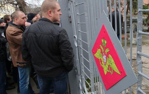В военкомате Симферополя заявляют о наплыве желающих служить в армии РФ