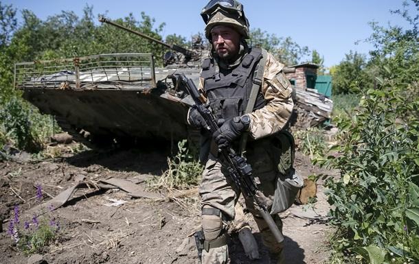 В зоне АТО ранен один украинский военный