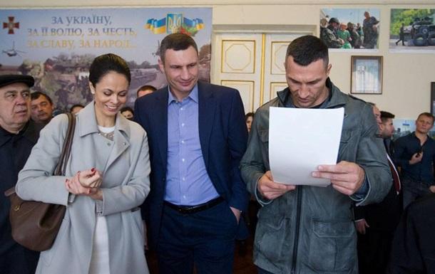 В Киеве на выборах лидирует Кличко - экзит-полл