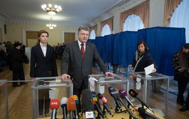 Порошенко рассчитывает на честный подсчет голосов на выборах