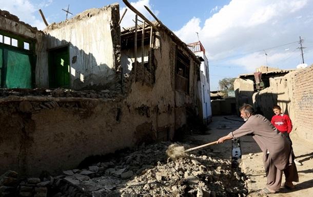 Увеличилось число жертв землетрясения в Афганистане