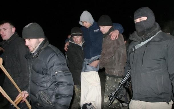 Киев ожидает освобождения группы заложников