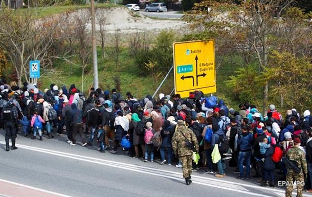 Австрия отгородится от Словении стеной