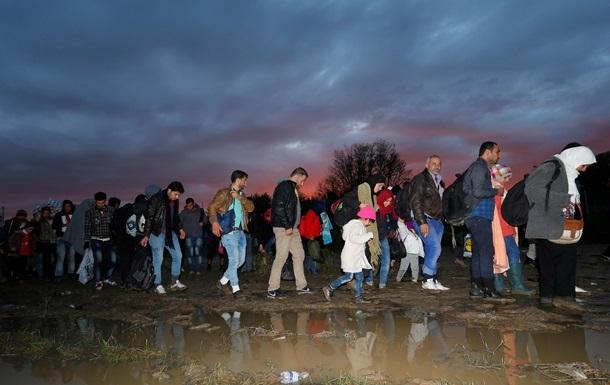 В Македонию за сутки прибыли шесть тысяч беженцев