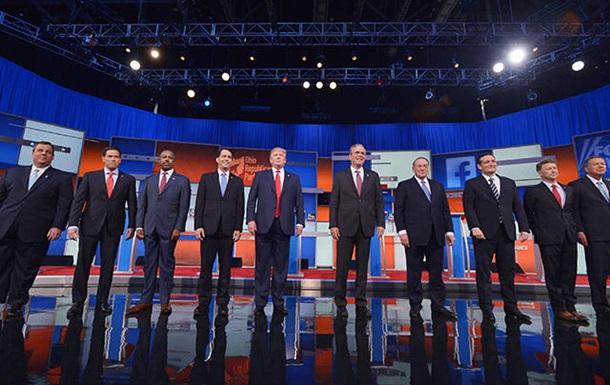 Потенциальные кандидаты в президенты США провели дебаты